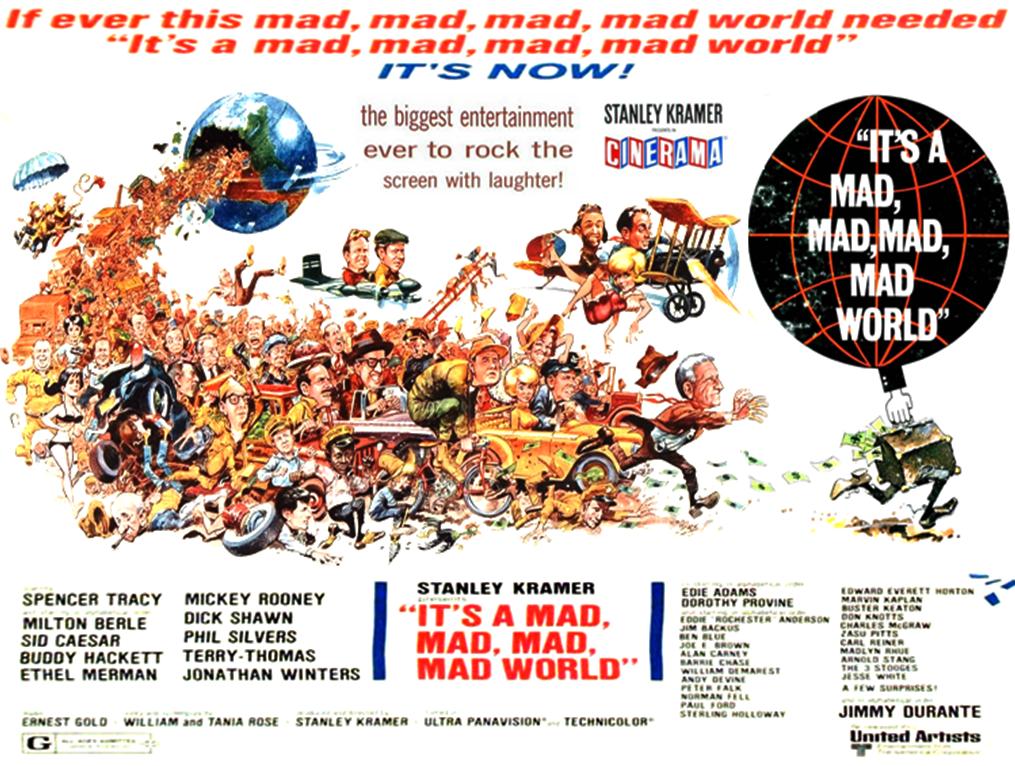 Questo pazzo, pazzo, pazzo, pazzo mondo - poster di Jack Davis