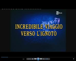 Incredibile viaggio verso l'ignoto - titoli italiani