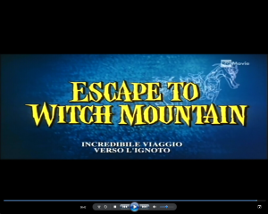 Escape to Witch Mountain - titoli USA