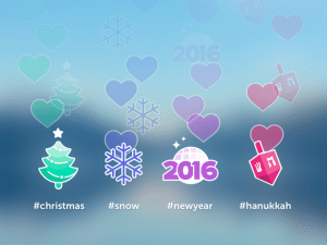 Periscope 2015 Holiday Hashtags